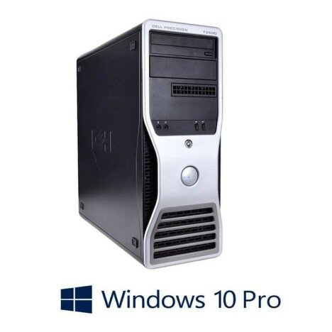 PC Refurbished Gaming Dell Precision T3500, X5650, 12GB, GeForce GT630, Win 10 Pro